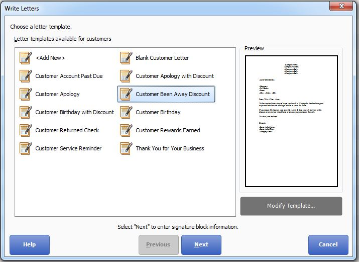 Quickbooks Point Of Sale Help Write Customer Letters From Pos