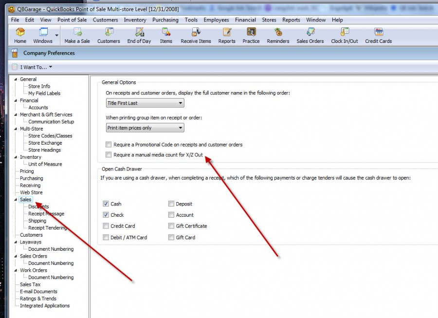 DESKTOP POS,END OF DAY, QuickBooks POS: Purpose of X-Out and