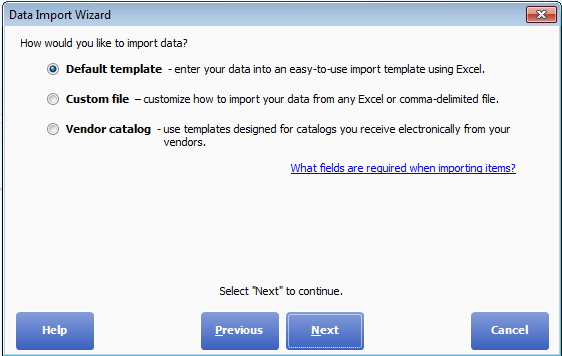 QuickBooks™ Point of Sale: Data Import Wizard Instructions