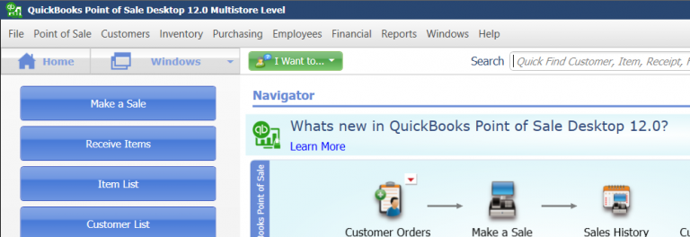 QuickBooks™ Point of Sale: Inventory Reports