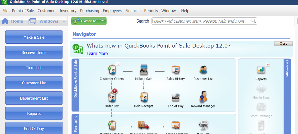 QuickBooks™ Point of Sale: Putting Items on Layaway