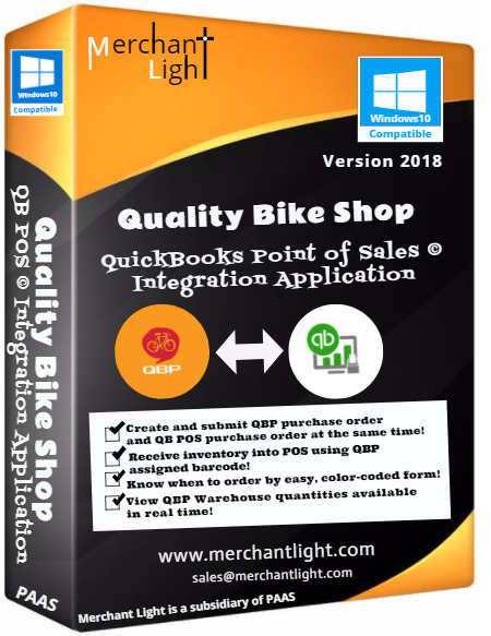 Merchant Light Quality Bike Shop QBPOS Integration App
